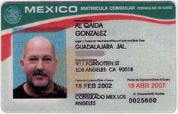 A 'secure' Matricula Consular ID card